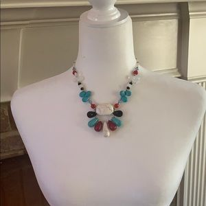 Jewelry - Turquoise and gemstone necklace